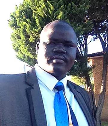 The Rev'd Samuel K Majok